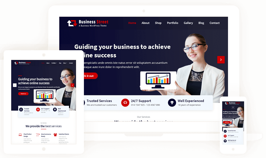 Business Street Theme