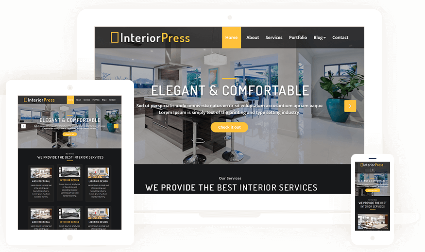 InteriorPress Theme