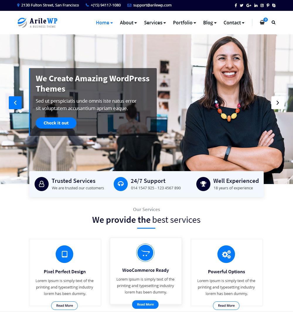 ArileWP Homepage